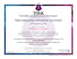 Anatomia Intuitiva Certificato