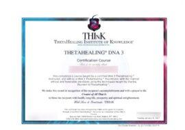 DNA3 certificato