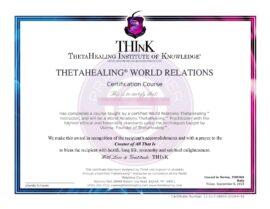 Relazioni con ll Mondo Certificato