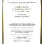 Certificate of Science