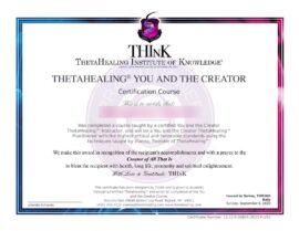 Tu e il Creatore certificato