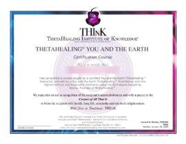 Tu e la Terra Certificato