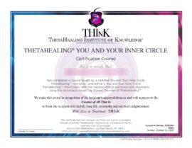 Tu e la tua Cerchia Ristretta Certificato